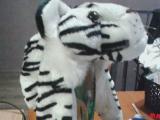Шапки-звери для карнавала, новые, материал искусственный мех