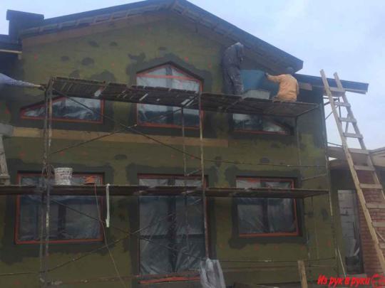 Расход дюбелей при утеплении фасада